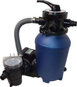 Kit de filtration a sable piscine filtre a sable avec pompe 8 m et