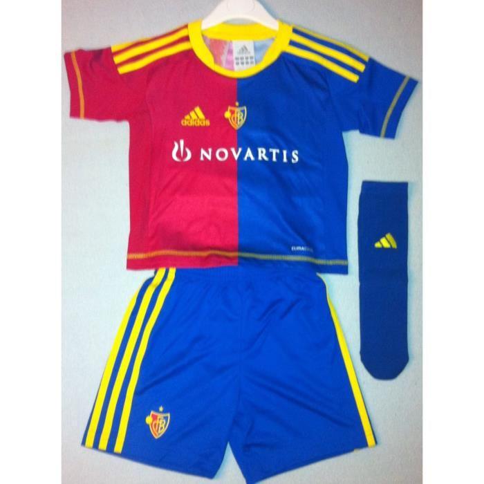 Ensemble football enfant maillot, short et chaussettes Adidas FC BALE