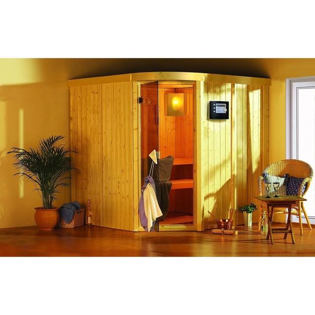 Sauna traditionnel lavea 68 mm avec couronne arrondie 210