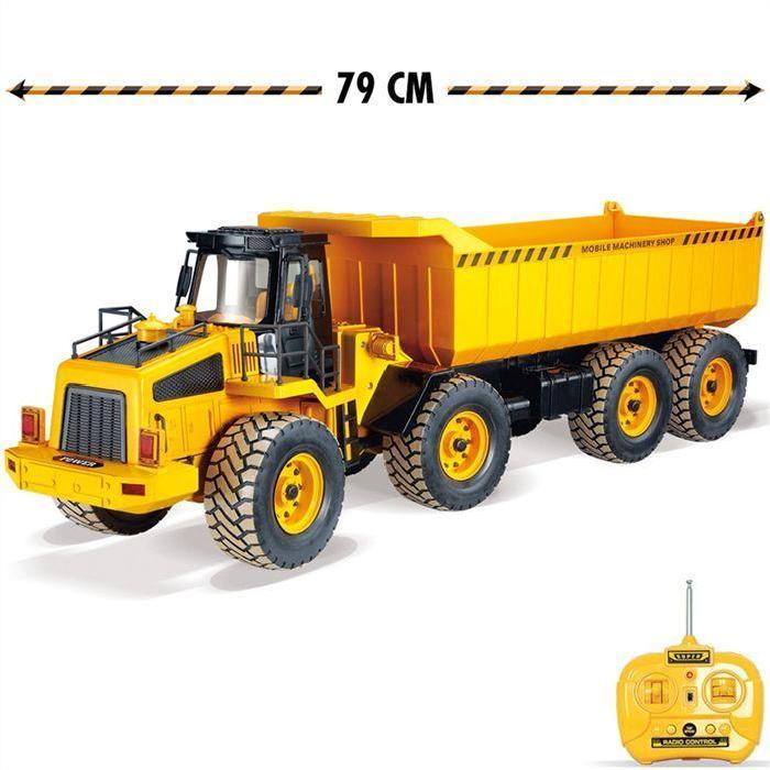 Camion de chantier radiocommandé 79 cm Achat / Vente voiture