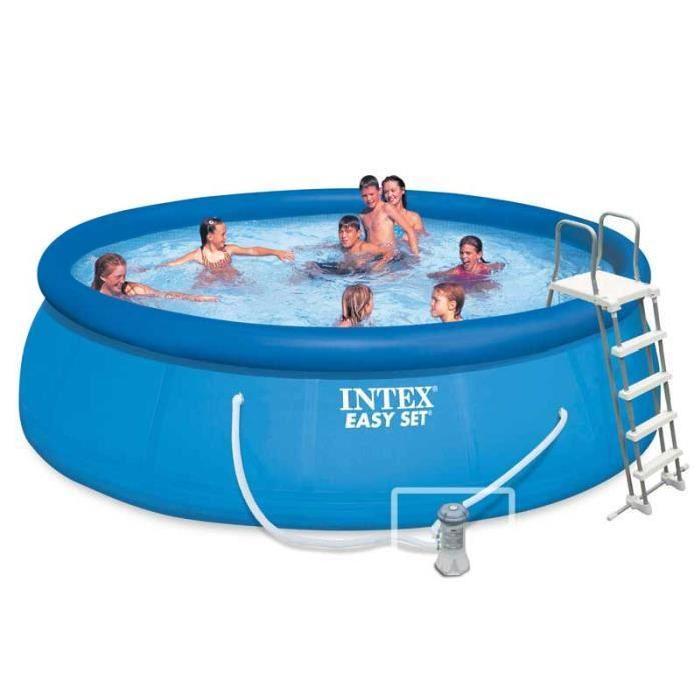 INTEX Piscine ronde autoportante 4,57 x 1,22 m Achat / Vente piscine