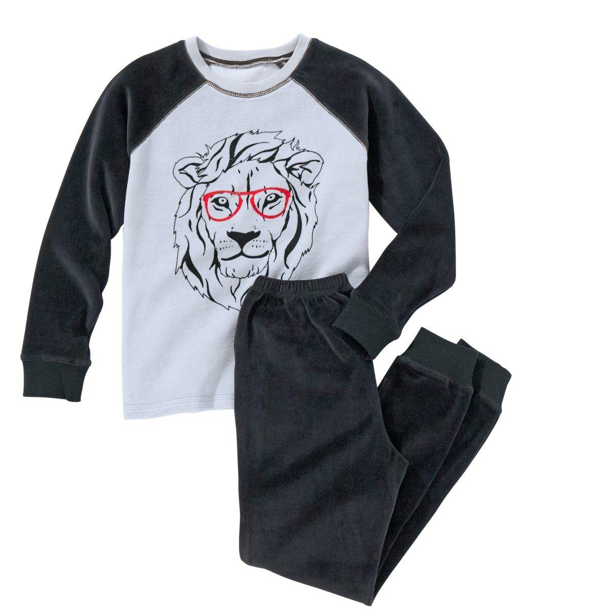 Pyjama velours imprimé R kids