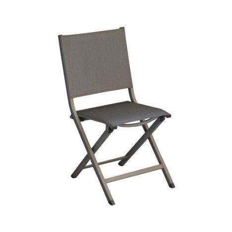 Chaise de jardin en aluminium Thema argent |