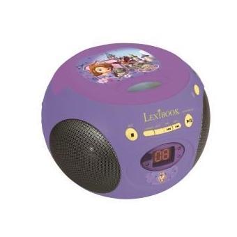 Princesse sofia radio lecteur cd lexibook rcd102sf Acheter sur Fnac