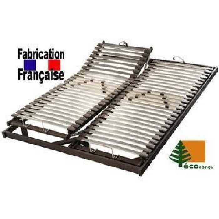 Sommier relaxation manuelle 2x80x200 Achat / Vente sommier Soldes