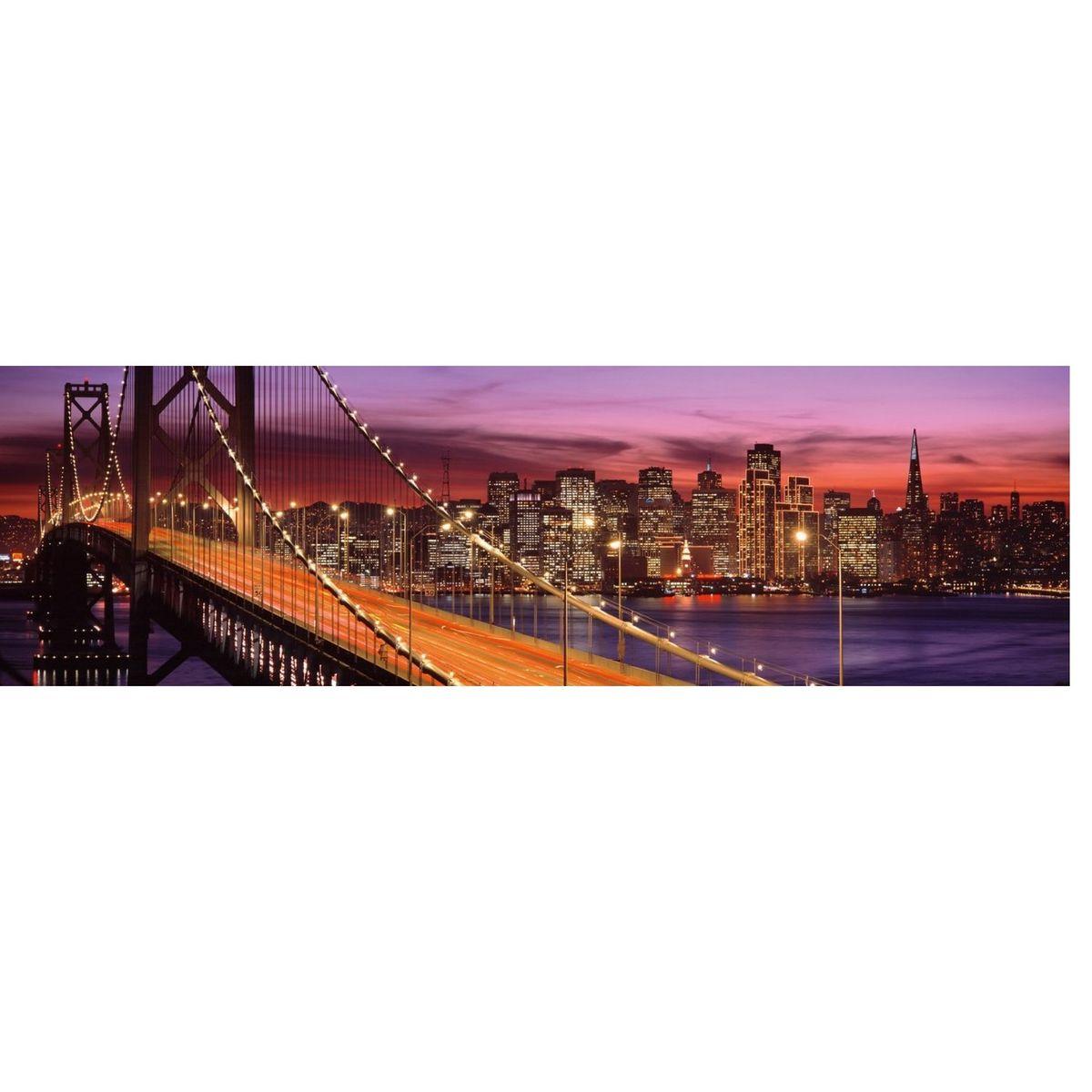 image Puzzle 2000 pièces panoramique : Bay Bridge, San Francisco