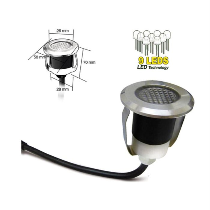 Spot encastrable led exterieur terrasse for Spot led encastrable exterieur terrasse