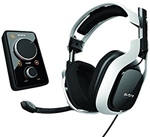 Astro Gaming Bundle Ampli Mixamp Dolby 7.1 et Casque Gaming A40 Blanc