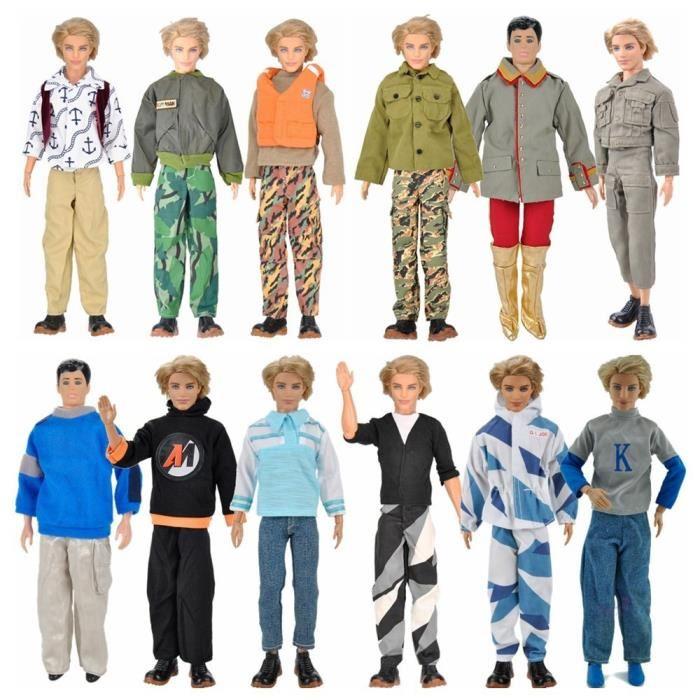 TING 5 pieces Définit main Blouse Outfit Casual Wear Vêtements