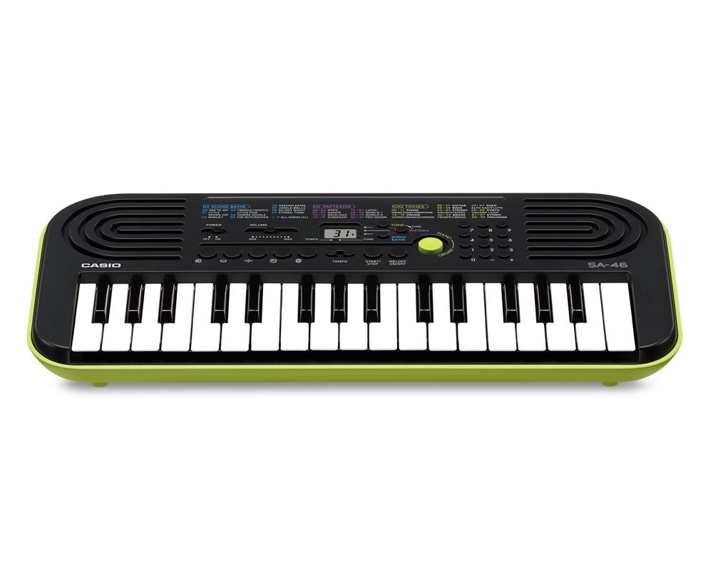 Casio sa 46 Mini Enfants Keyboard E piano synthetiseur 32 touches 100