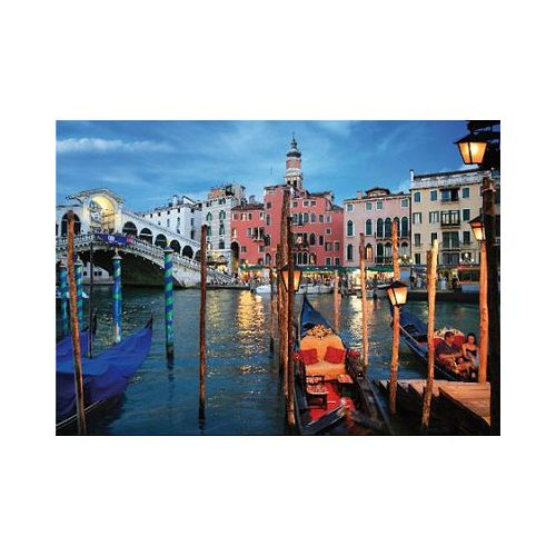 Dtoys Puzzle 1000 pièces Paysages nocturnes : Venise, Italie