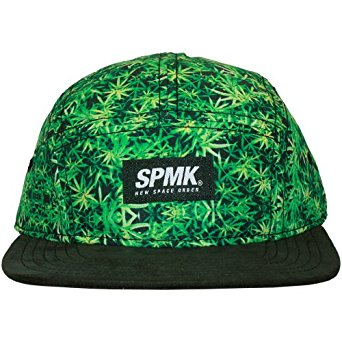 Space Monkeys Casquette 5 Panel Homme Green 5 Panels Cap Green