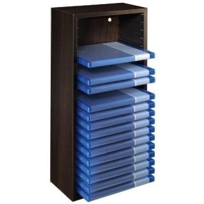 BLU RAY BOX MEDIENABLAGE HOLZ Achat / Vente rangement cd dvd BLU