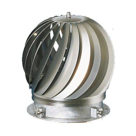 Chapeau aspirateur anti refoulement Aspirator POUJOULAT, diam. 190/235