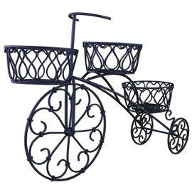tricycle bac a fleurs cache pot porte plantes jardiniere pour fleurs