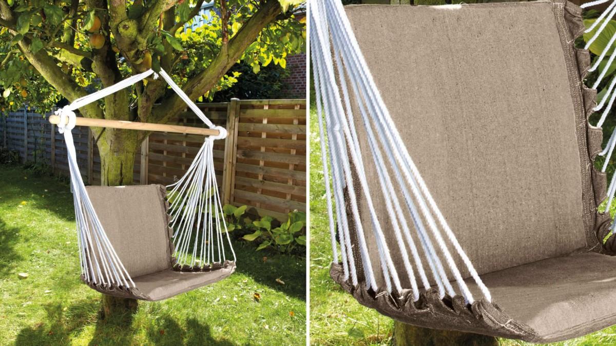 fauteuil suspendu topiwall. Black Bedroom Furniture Sets. Home Design Ideas