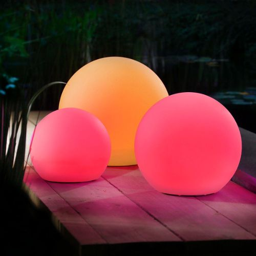 boule d clairage exterieur excellent aperu boule lumineuse led multicolore pour luextrieur sans. Black Bedroom Furniture Sets. Home Design Ideas