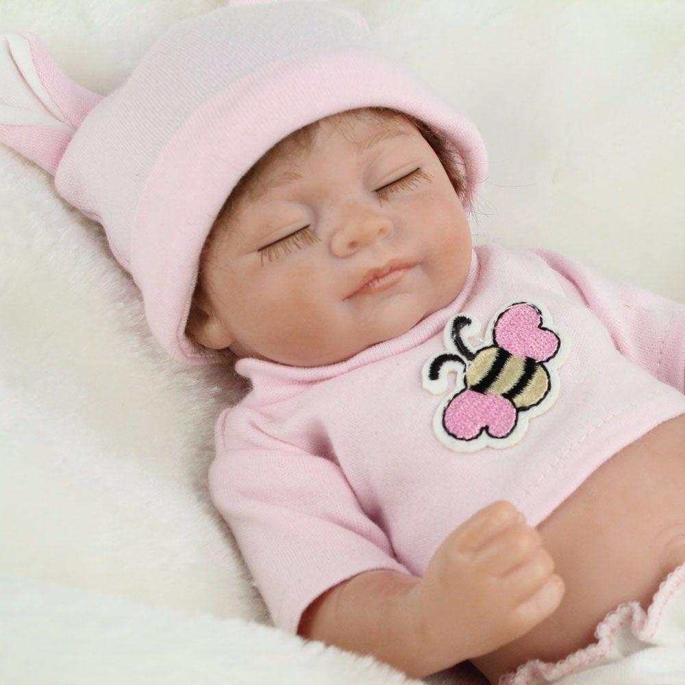 Looking Newborn Baby Vinyl Silicone Realistic Reborn Dolls Boy