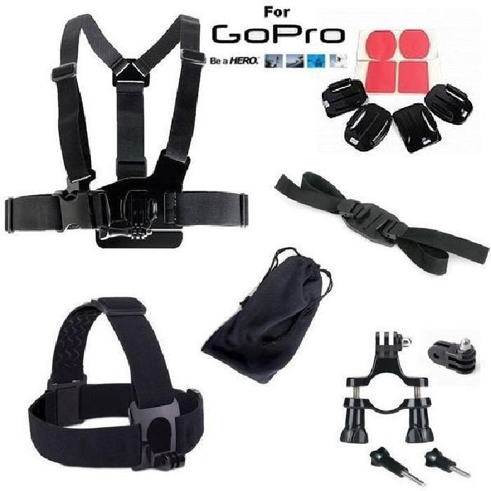 Pack Accessoire fixation pour GoPro 1 & 2 & 3 & 3+ Achat / Vente