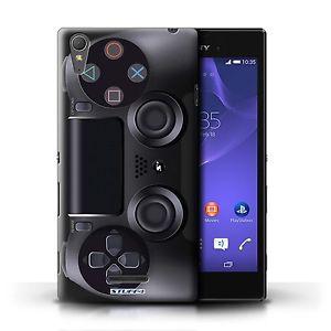 Coque de Stuff4 pour Sony Xperia T3 Playstation PS4 Console jeux video