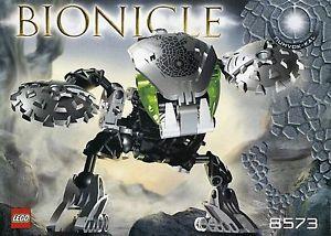 Bionicle Mata NUI Bohrok KAL Nuhvok KAL Complet Notice DE 2003