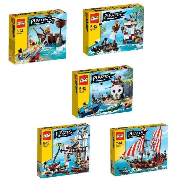 LEGO Pirates Pack Complet Achat / Vente assemblage construction
