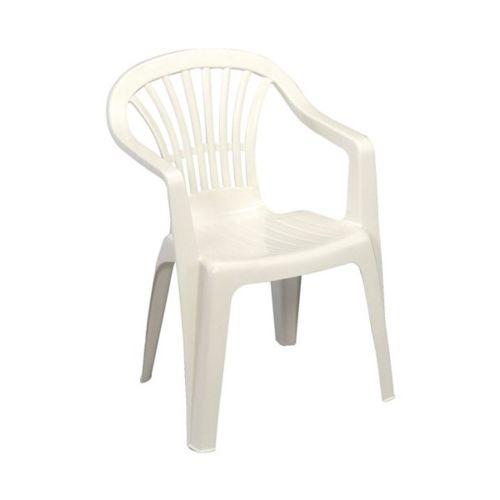 de jardin Altea blanc pas cher Achat / Vente Chaises de jardin