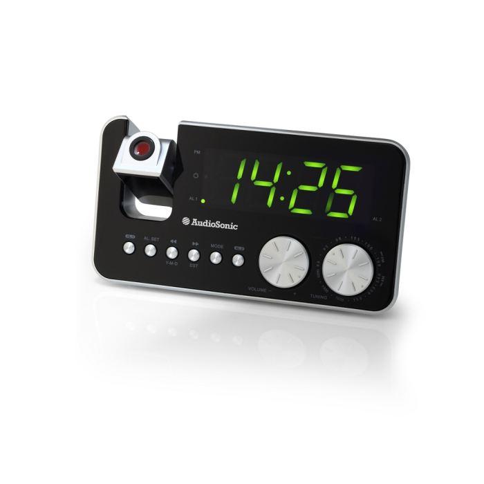 Radio Réveil Projecteur CL 1484 radio réveil, prix pas cher