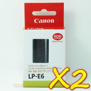 LP E6 Batteries For Canon EOS 5D Mark II III 6D 60D 60Da 7D BG E6 Grip