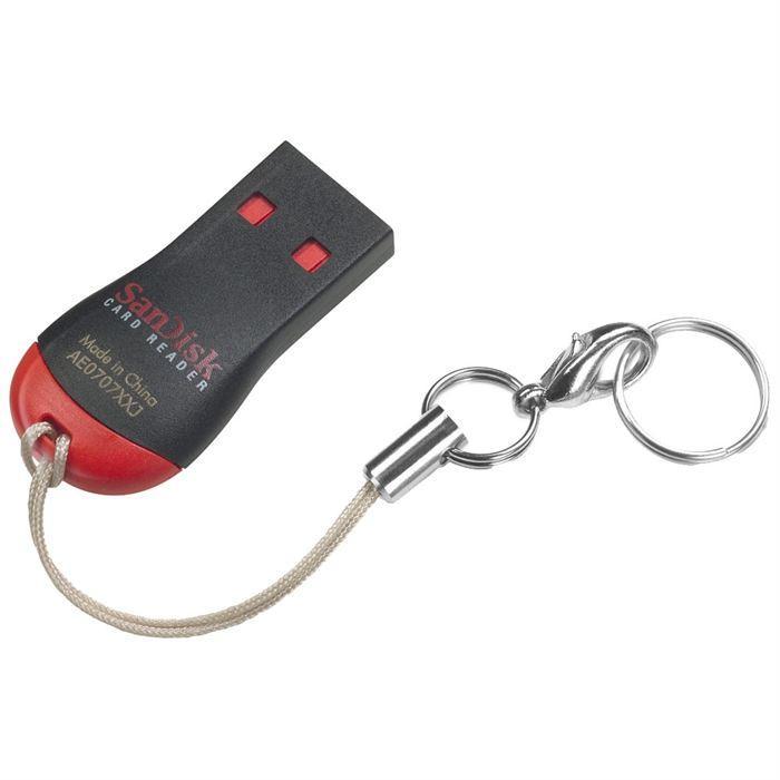 SanDisk Lecteur de cartes Micro SD Achat carte mémoire pas cher