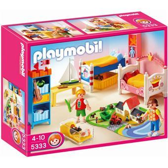 Playmobil 5333 Chambre des enfants avec lits décorés Playmobil