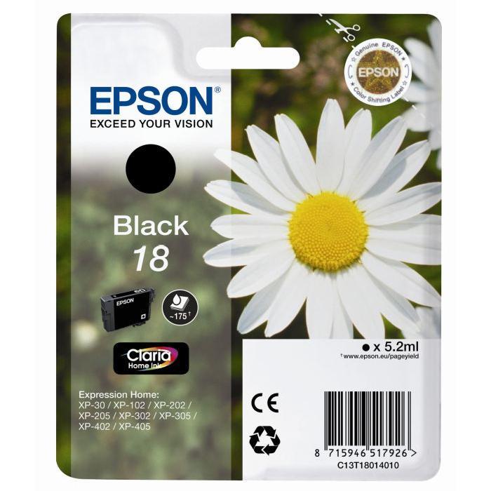 Cartouche d'encre Noir x1 Achat / Vente cartouche imprimante Epson