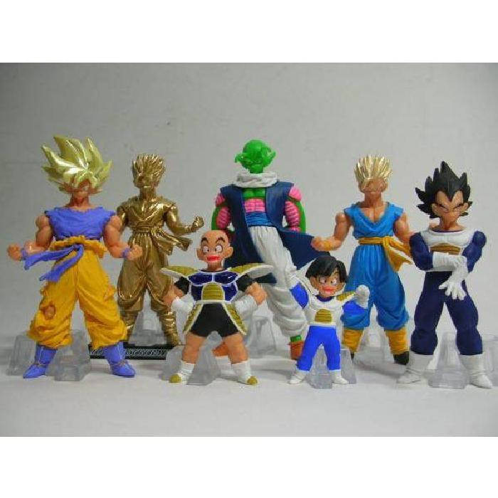 dragon ball z pack 7 figurines collection 1 Achat / Vente figurine