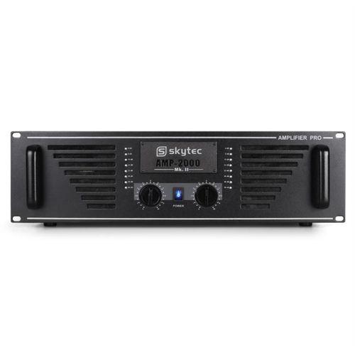 Skytec Ampli Dj Pa Sono Pro 2000 Stereo Mosfet 2000W pas cher