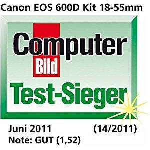 Canon EOS 600D Appareil photo numérique Reflex 18 Mpix Kit Objectif