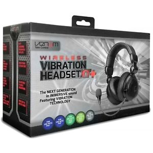Vibration Headset XT PS3 PS4 Xbox 360 Xbox ONE Brand NEW