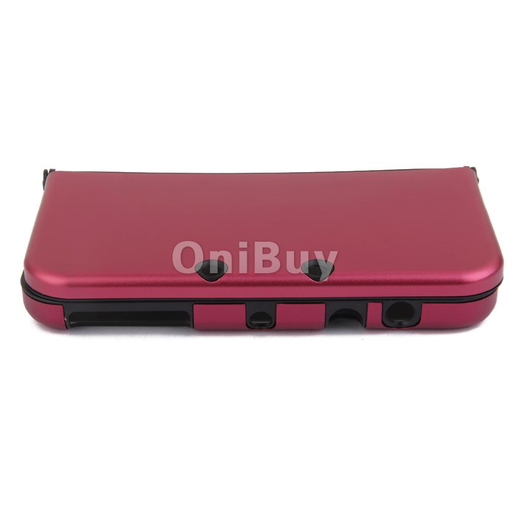 Protection Coquille Case Pour Nintendo 3DS XL Nouveau Rouge foncé