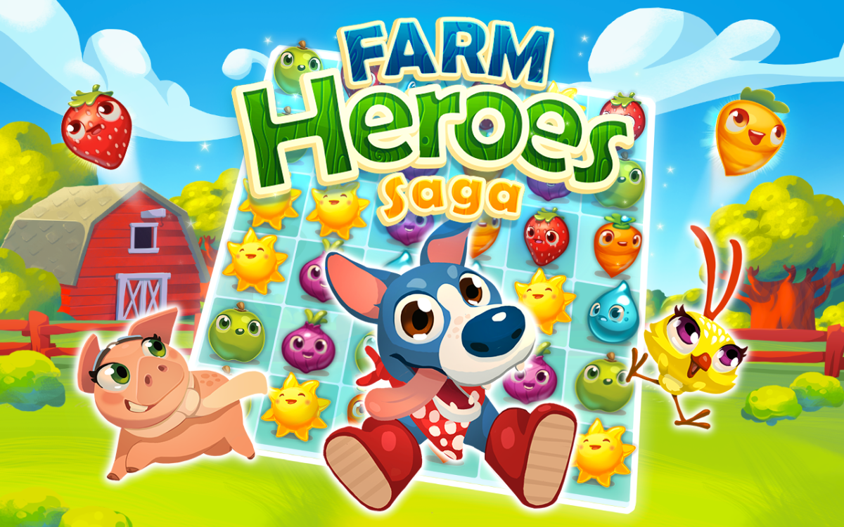 Farm Heroes Saga: Appstore pour Android