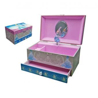 Boite à bijoux Boite à musique Disney Princesse Avec tiroir