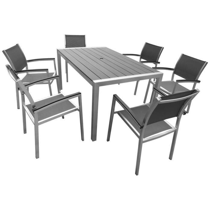 Salon de jardin aluminium gris - page 2 - TopiWall