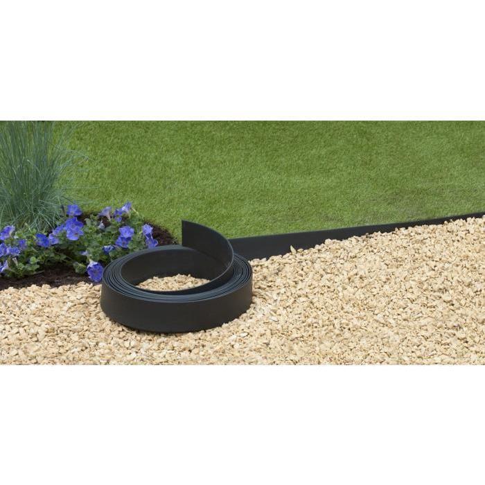 Bordure Pro polyuréthane noir H9cm x 5m Achat / Vente bordure