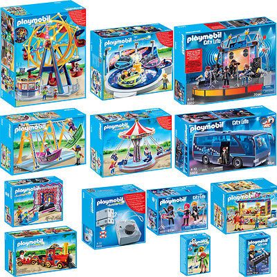 Playmobil ® Summer Fun Parc attraction & POP STAR particulière