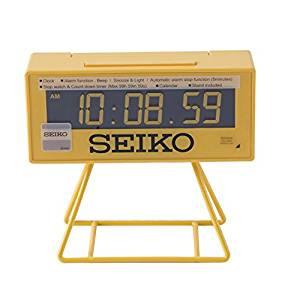 Seiko Clocks QHL062Y Réveil Digitale Eclairage