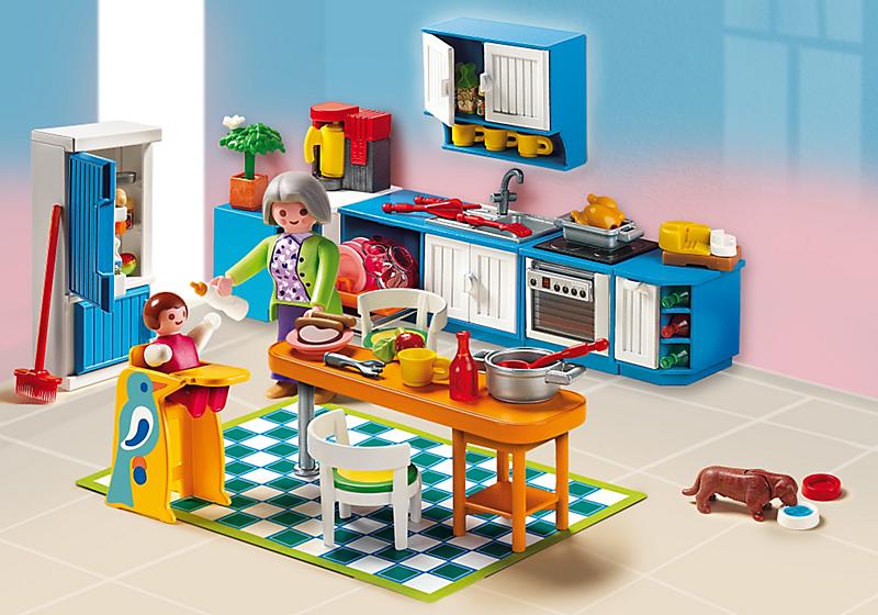 PLAYMOBIL 5329 Cuisine Achat / Vente univers miniature