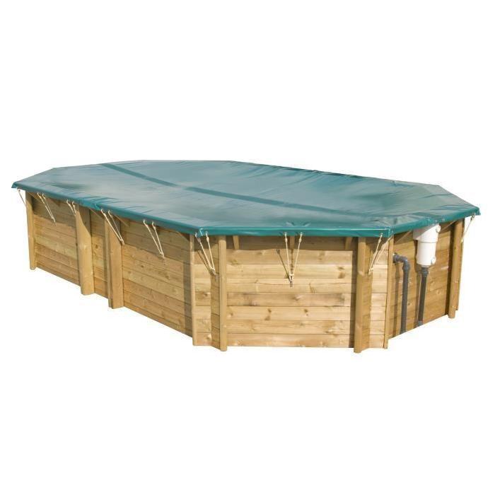 Couverture hiver sécurité pour piscine bois +460 Achat / Vente