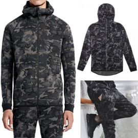 Fb Mode Survêtement Tech Fleece Camo Militaire Noir Collection 2016