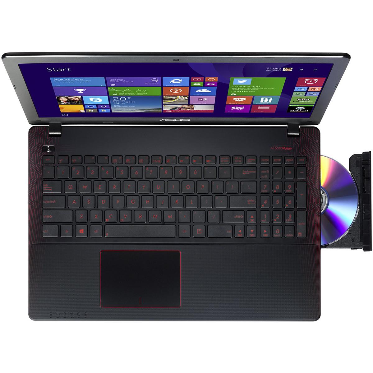 ASUS Ordinateur portable R510JX DM225T Noir Ecran 15.6 pouces