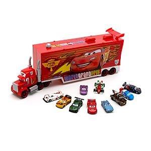 Camion Mack Disney Cars «2» Pixar + 10 Voitures Neuf: Jeux