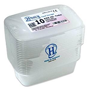 10 x micro ondes Grand 650ml / Congélateur Coffre boîtes à lunch en