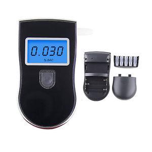 Porte Cles Noir Ethylotest Alcootest Numerique LCD Avec Retroeclairage